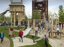 De Bosspeeltuin – speeltuin Maximapark Leidsche Rijn