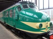 Nationale museumweek; Gouden trein op Domplein