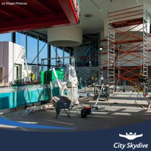 City skydive binnen